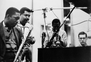Coltrane, Cannonball Adderley, Miles, Bill Evans