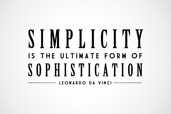The Strength of Simplicity