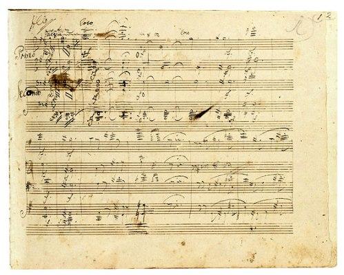 Grosse Fuge Manuscript