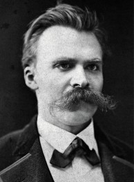 Friedrich Nietzsche and his killer mustache