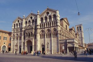Ferrara Cathedral, one of the places Josquin was employed