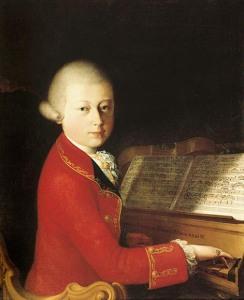 Wolfgang Mozart, age 14
