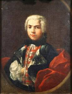 Carlo Broschi 'Il Farinelli' (1705-82), one of the most famous Male sopranos of his day.