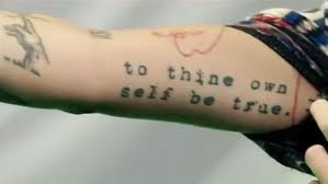 To Thine Own Self BeTrue